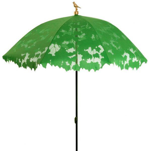 Parasol met bladerdag van Droog Design