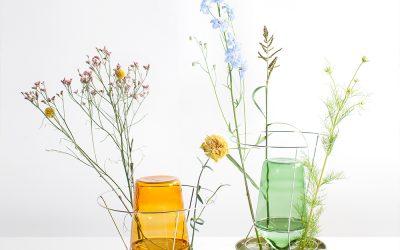 Een 'Hidden vase'?  Deze unieke vaas ontworpen door Chris Kabel mag gezien worden.