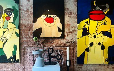 Expositie 'Inside Out' bij Chez Freddy art & design