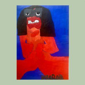 Outsider art artist Paulus de Groot