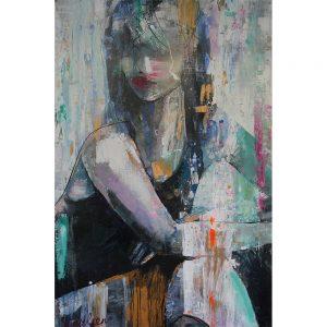 Bonne nuit Madame Karlien Kuperus bij Chez Freddy Haarlem schilderij
