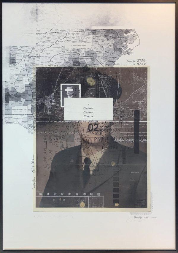 Charles Bruijn-a soldiers head choices-70x100cm_Chez_Freddy_Haarlem_galerie