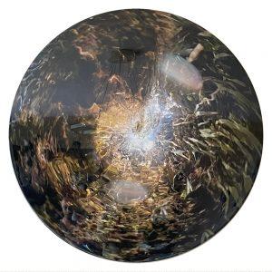 Clifton Mahangoe-Stillness of light 2020-Golden Angels-dia75cm