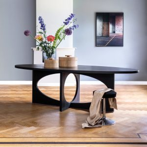 Tafel Nederlands design Eye eiken Chez Freddy art & design Haarlem