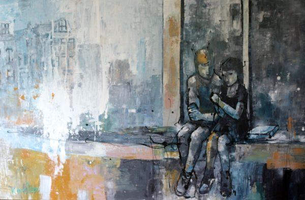 Karlien-kunstenaar-op-de-kade-chez