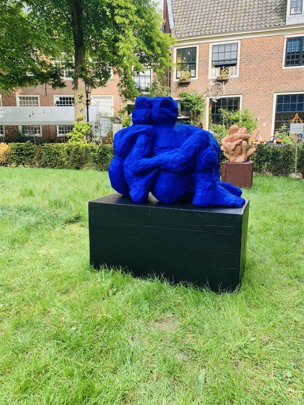 Peter Bartels beeldend kunstenaar beeld blauw