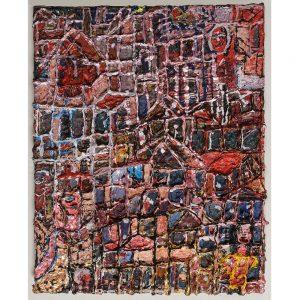 Livia-Dencher- outsiderart-schilderij- new-york-chez-Freddy-haarlem
