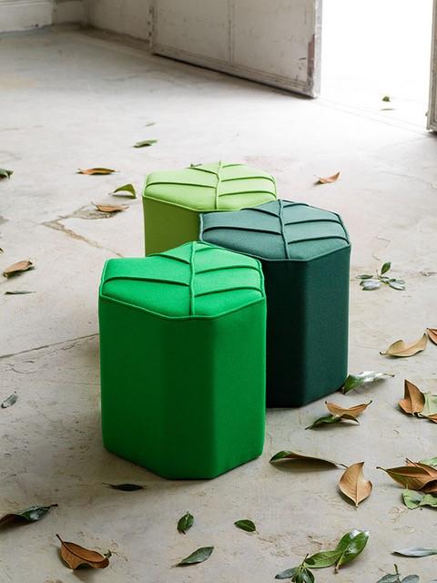 Leaf - Seat - lichtgroen - kruk - Chez - Freddy - Haarlem - interieur - Inspiratie
