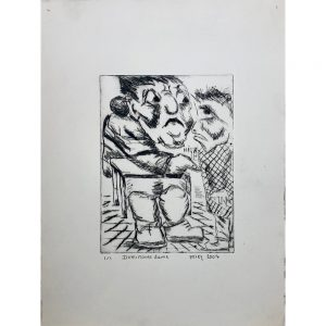 Mies van der Perk outsider art dominante vrouw Chez Freddy art brut