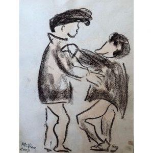 Mies van der Perk outsider art art brut Chez Freddy art &
