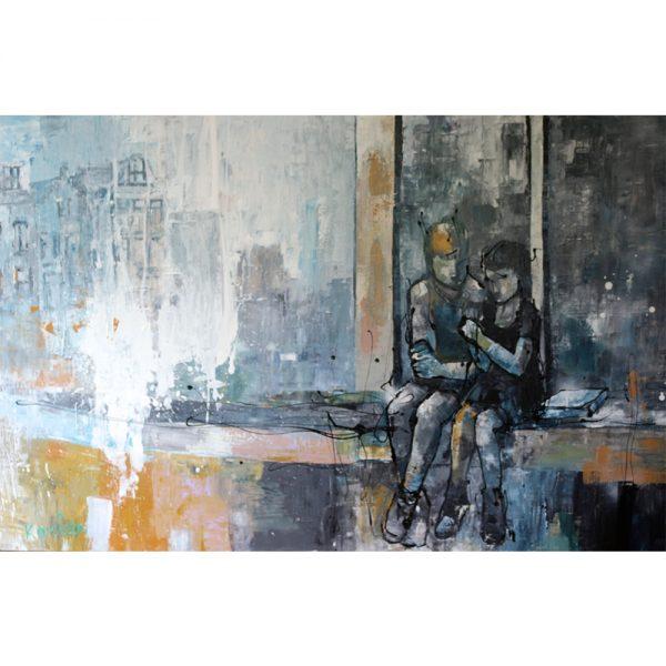 Karlien-kunstenaar-op-de-kade-chez-freddy-art-