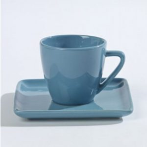 Cup-and-saucer-coffee-from-pottery-blue