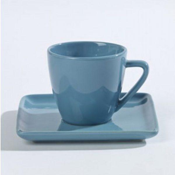 Kopje-en-schotel- koffie-van-aardewerk-blauw