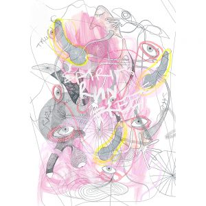 Digital art kunstenaar Jilles van Alen combineert fotografie, beelden en digitale schetsen waaruit zijn kunst werk ontstaat. Chez Freddy art & design Haarlem