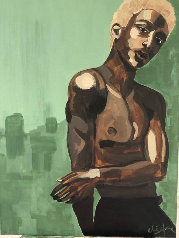 Eliane-The Dancer-60 x80cm _Chez _Freddy_Haarlem
