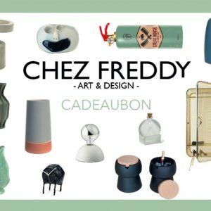 cadeaubon Chez Freddy art & design cadeaukaart, feestmaand