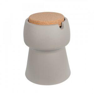 De Kruk heeft de vormgeving van een Champagne kurk is ontworpen door Olav van Leden