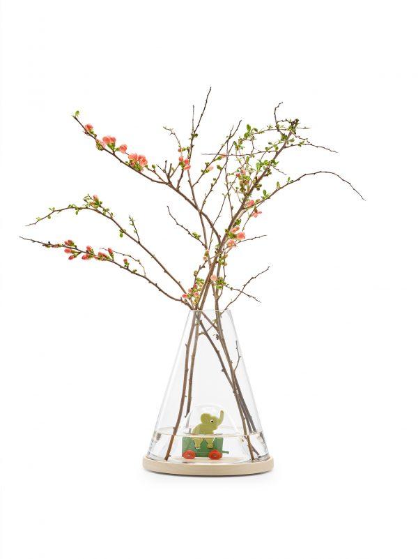 vase This unique vase with display is designed by Ontwerpduo.met display - Dutch Design